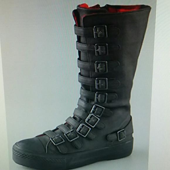 Ash Mat Buckle Sneaker Boots | Poshmark